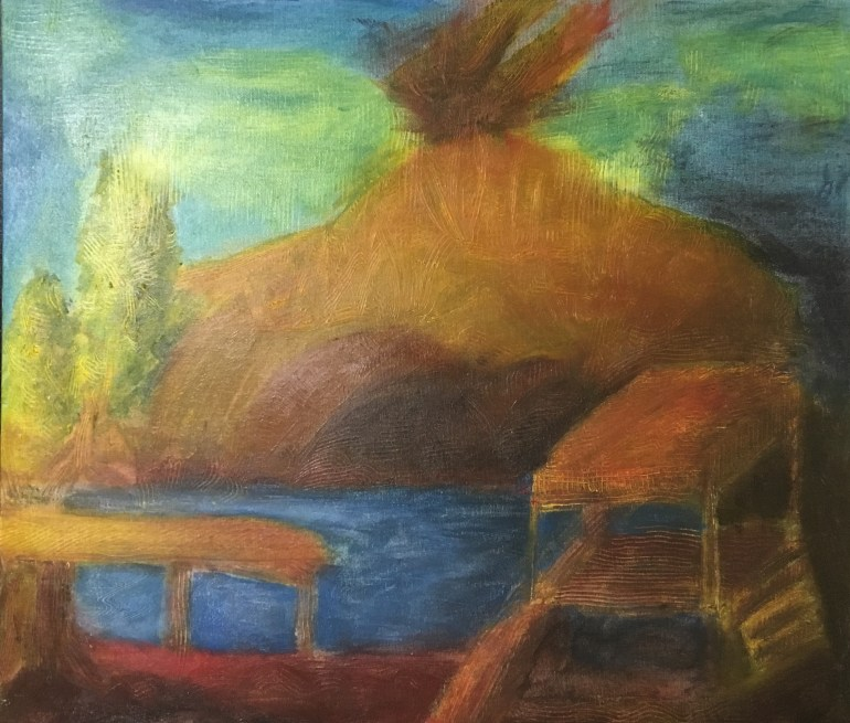 mathias-sager-volcano-lake-garden-painting-201605