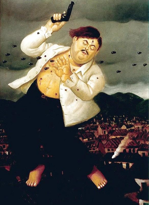 Botero: Escobar im Kugelhagel
