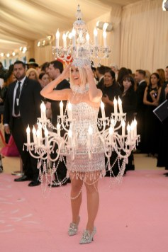 NEW YORK, NEW YORK - MAY 06: Katy Perry attends The 2019 Met Gala Celebrating Camp: Notes on Fashion at Metropolitan Museum of Art on May 06, 2019 in New York City. Neilson Barnard/Getty Images/AFP