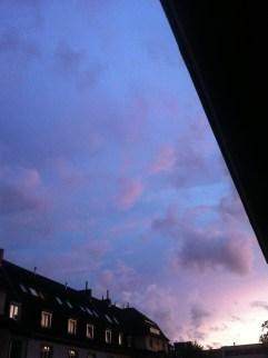 Wolkenwetter in Köln 10-08-2014