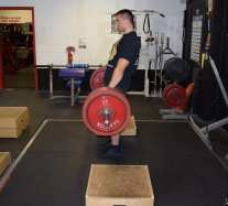 Deadlift Rack Pulls 2