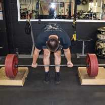 Conventional Deadlift Block Pulls 4
