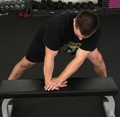 Forearm Stretch Mobility Exercise 4