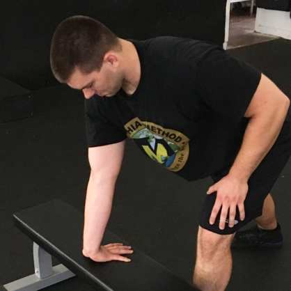 Forearm Stretch Mobility Exercise 2