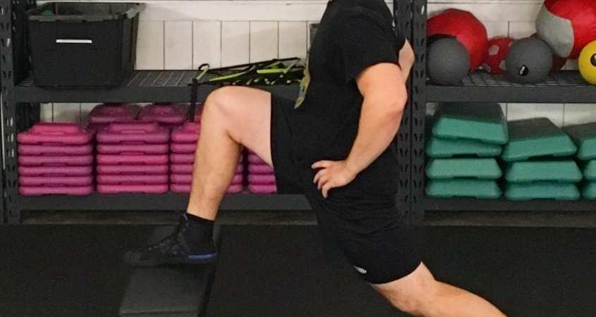 Hip Flexor Deep Stretch 1
