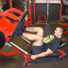 Leg Press Accessory Exercise 2