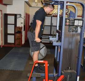 Weighted Dips Exercise 3