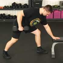 Dumbbell Row Exercise 3