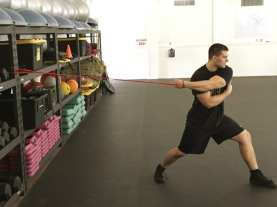 Shoulder Scapular Protraction Stretch 2