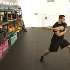 Shoulder Scapular Protraction Stretch 2