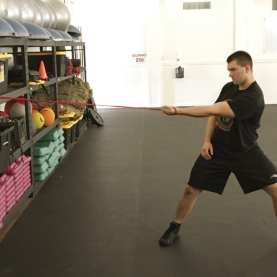 Shoulder Scapular Protraction Stretch 1