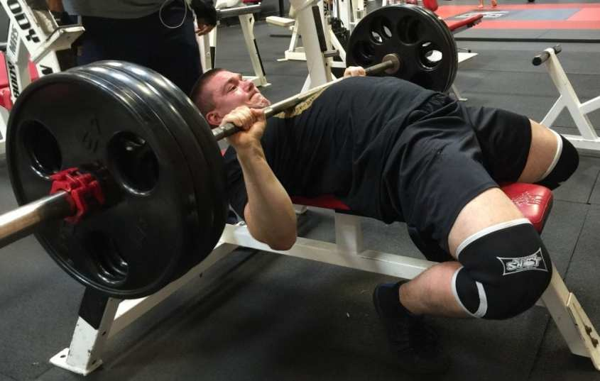 Ryan Mathias 315 lb bench press