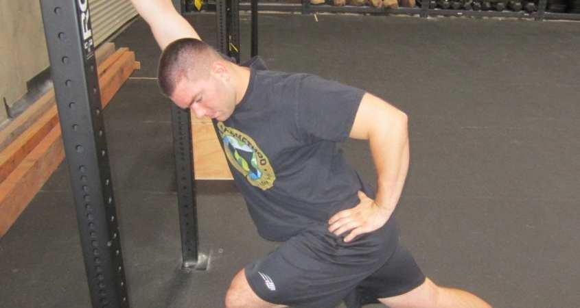 Lat Shoulder Flexion Stretch 7