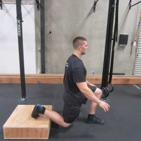 Bulgarian split Squat hip mobility Exercise 2