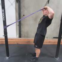 Face Pulls With a Band Rear Delt Exercise