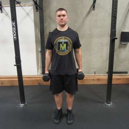 Dumbbell Hammer Curl Exercise 3