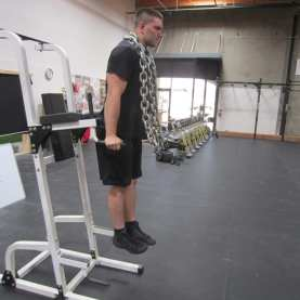 Dips with Chains Exercise 1