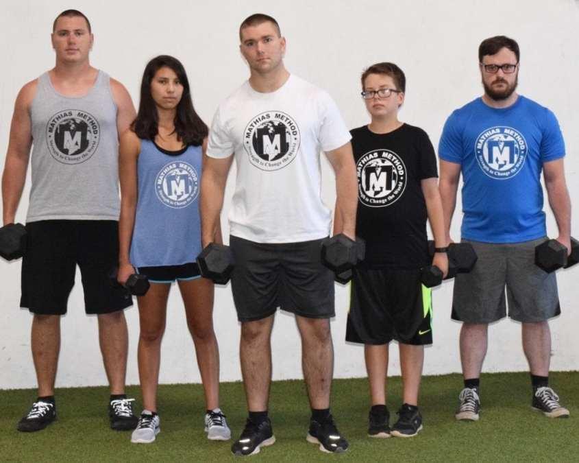 mathias method workout apparel