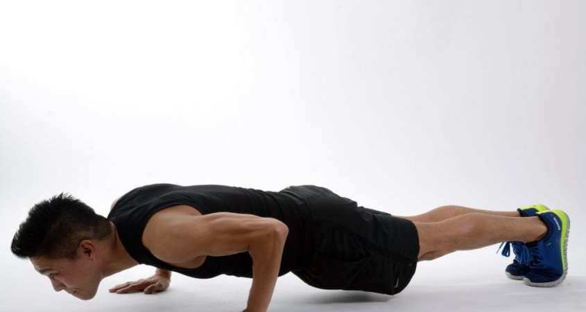 bodyweight push up