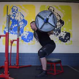 how to box squat 3