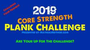 2019 Core Strength Plank Challenge
