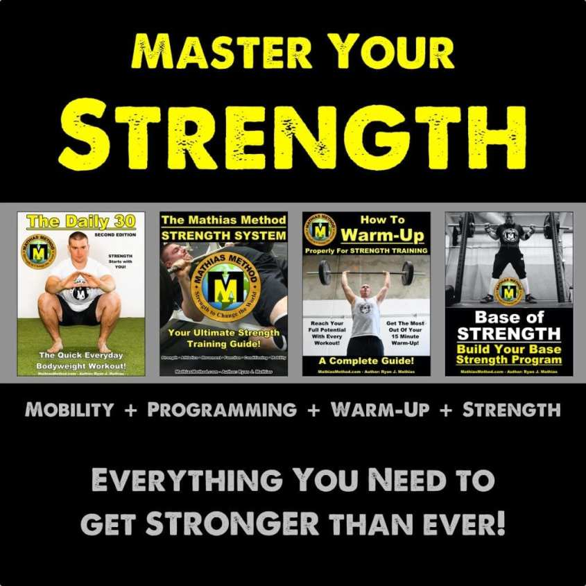Strength Training Program Workout Plan