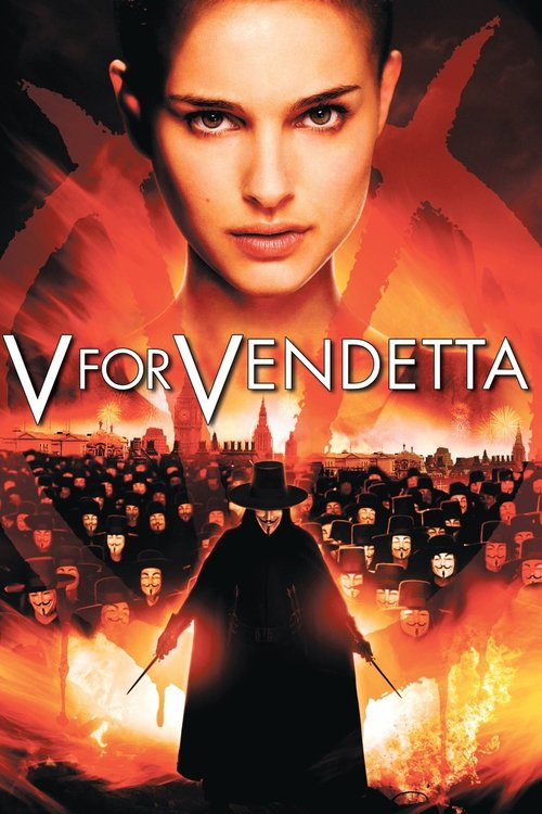 "Poster for the movie ""V for Vendetta"""
