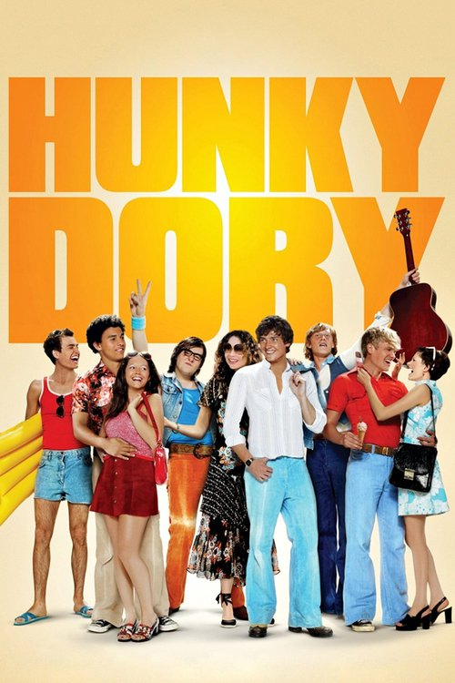 "Poster for the movie ""Hunky Dory"""