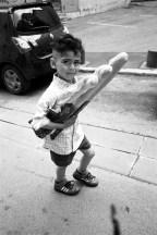petit boy baguettes Dos panier