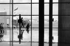kids airport jewish plane