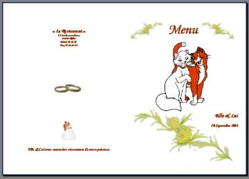 Modeles Gratuits De Menus Et De Cartons De Table