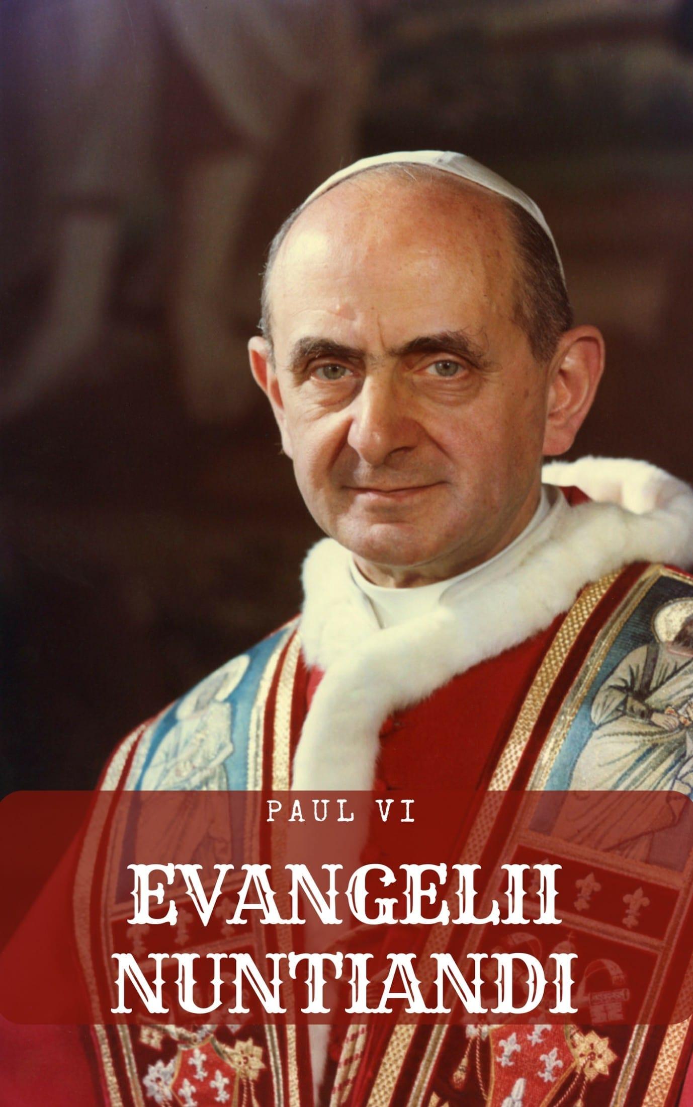 L'exhortation apostolique Evangelii Nuntiandi est disponible en format électronique sur ma boutique, pour une lecture confortable.