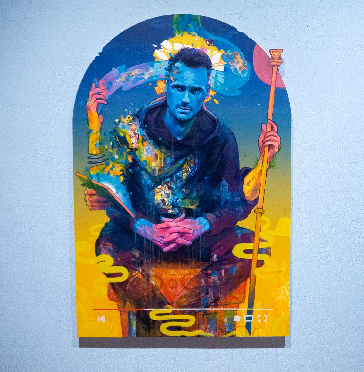Pillar of Creation (2020) painting