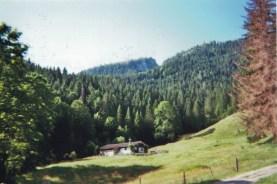 The view from our huts / Der Blick von unseren Hütten