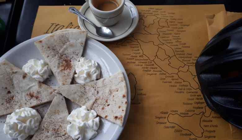 un café en Italie