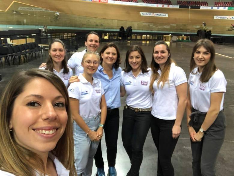 Petit selfie avec la ministre des sports Roxana Maracineanu