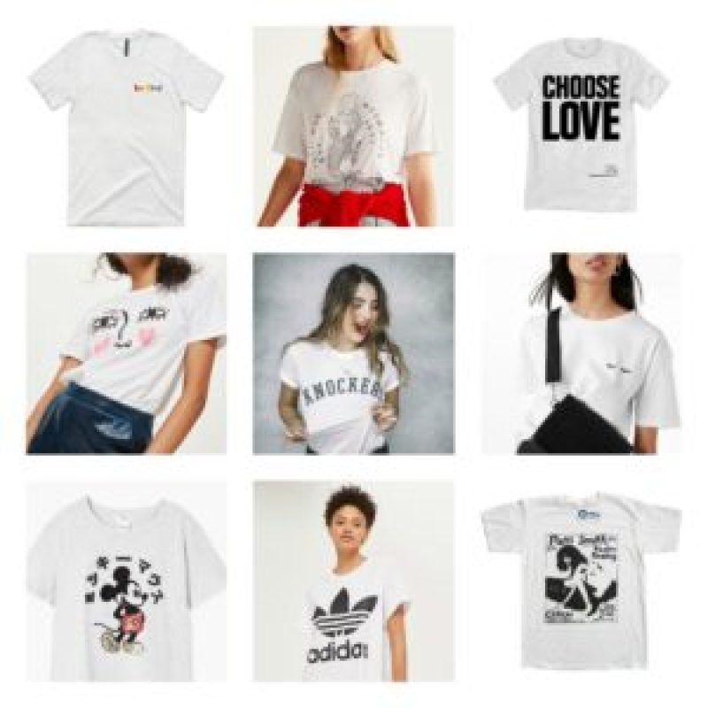white alternative t-shirts
