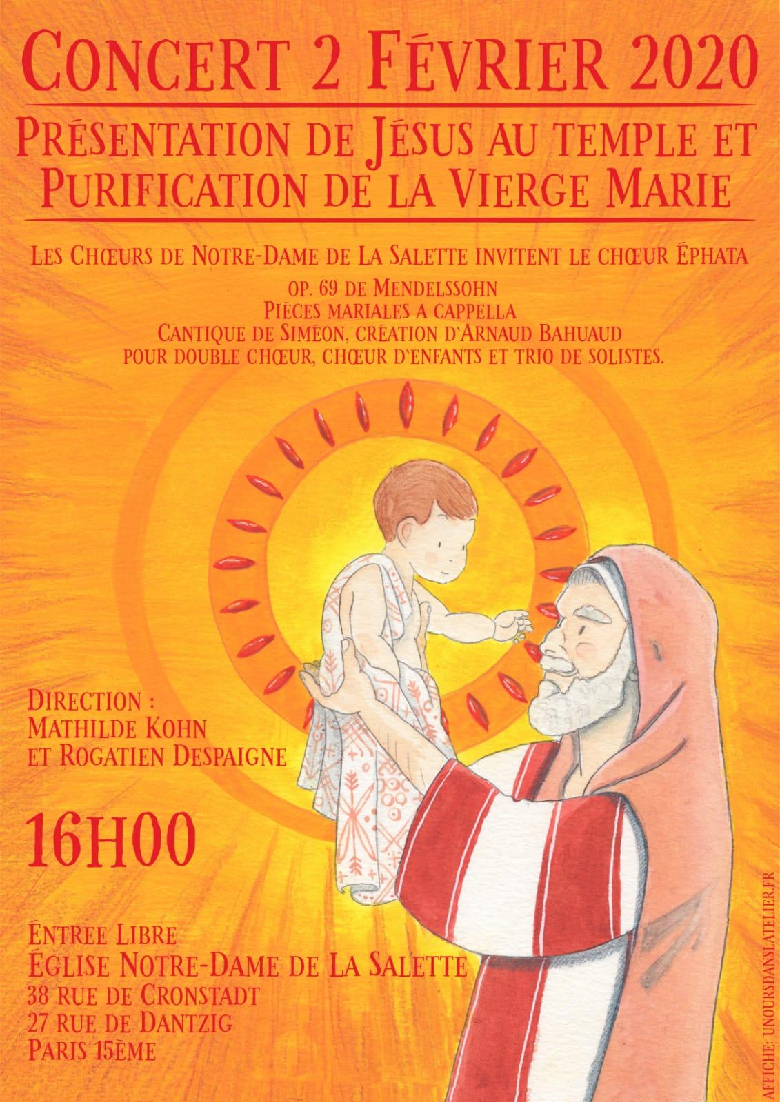 Présentation de Jésus au temple et Purification de la Vierge Marie