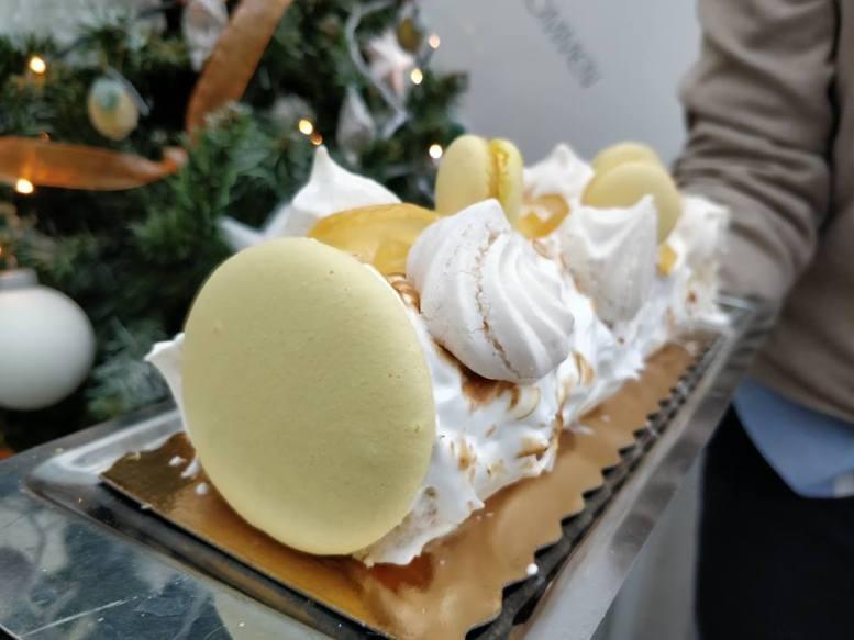 bûche citron meringuée2