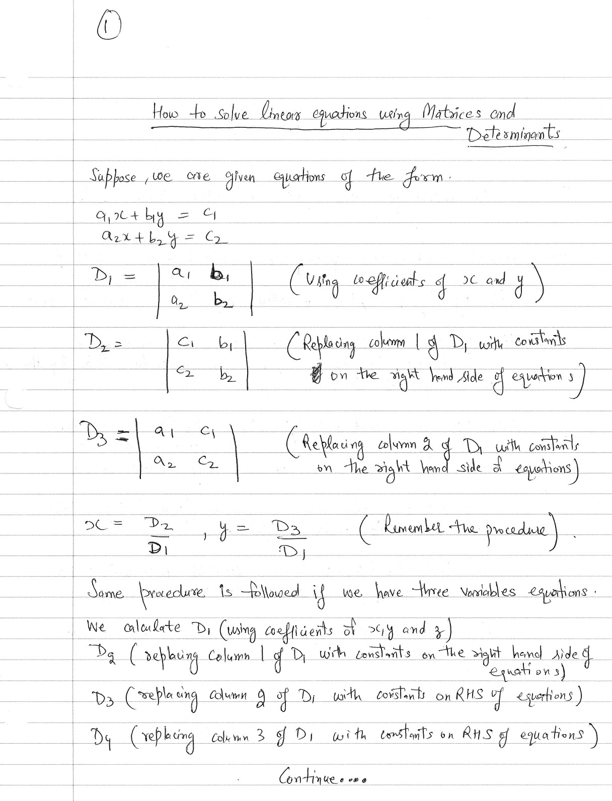 Inverse Matrix Solve System Linear Equations Calculator