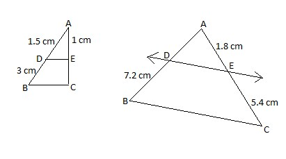 Sample Question Basic Proportionality Theorem