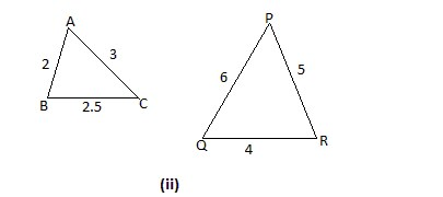 Similarity of Triangles Sample Problems