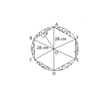 CBSE Ncert Math solutions Areas related to Circles Chapter