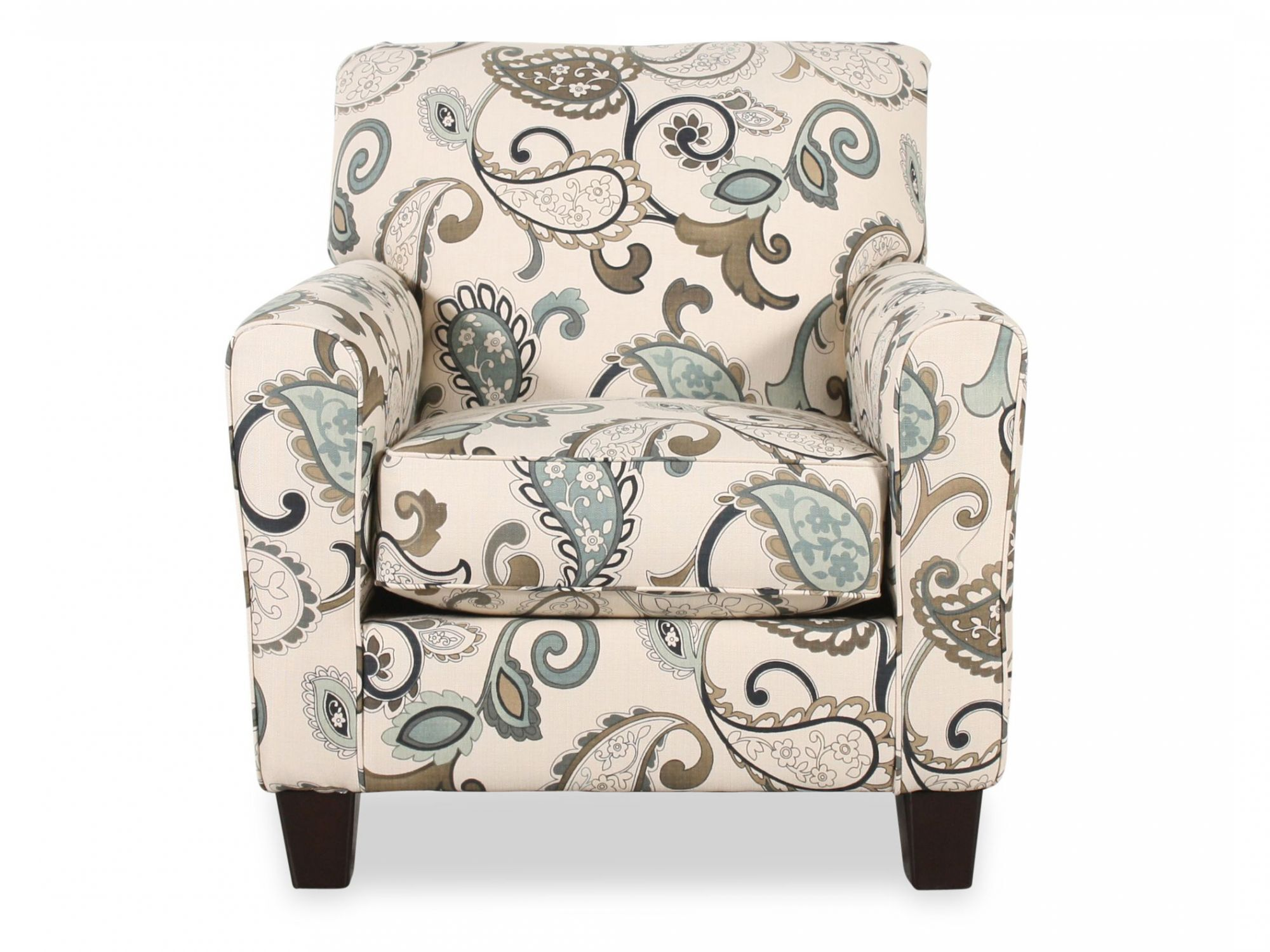 Paisley Chair Paisley Patterned Contemporary 35