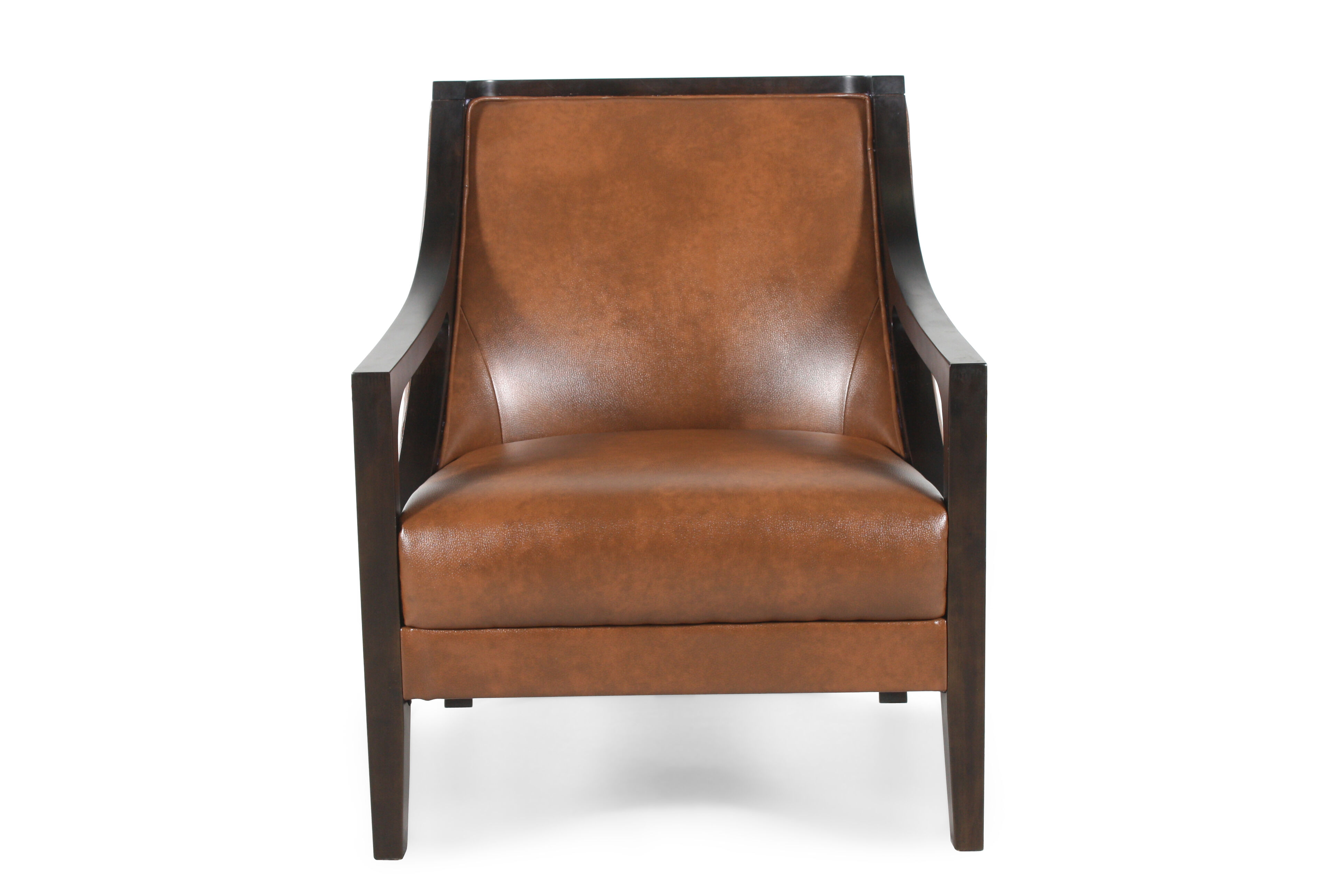Saddle Chairs Contemporary 27 5 Quot Chair In Saddle Brown Mathis Brothers