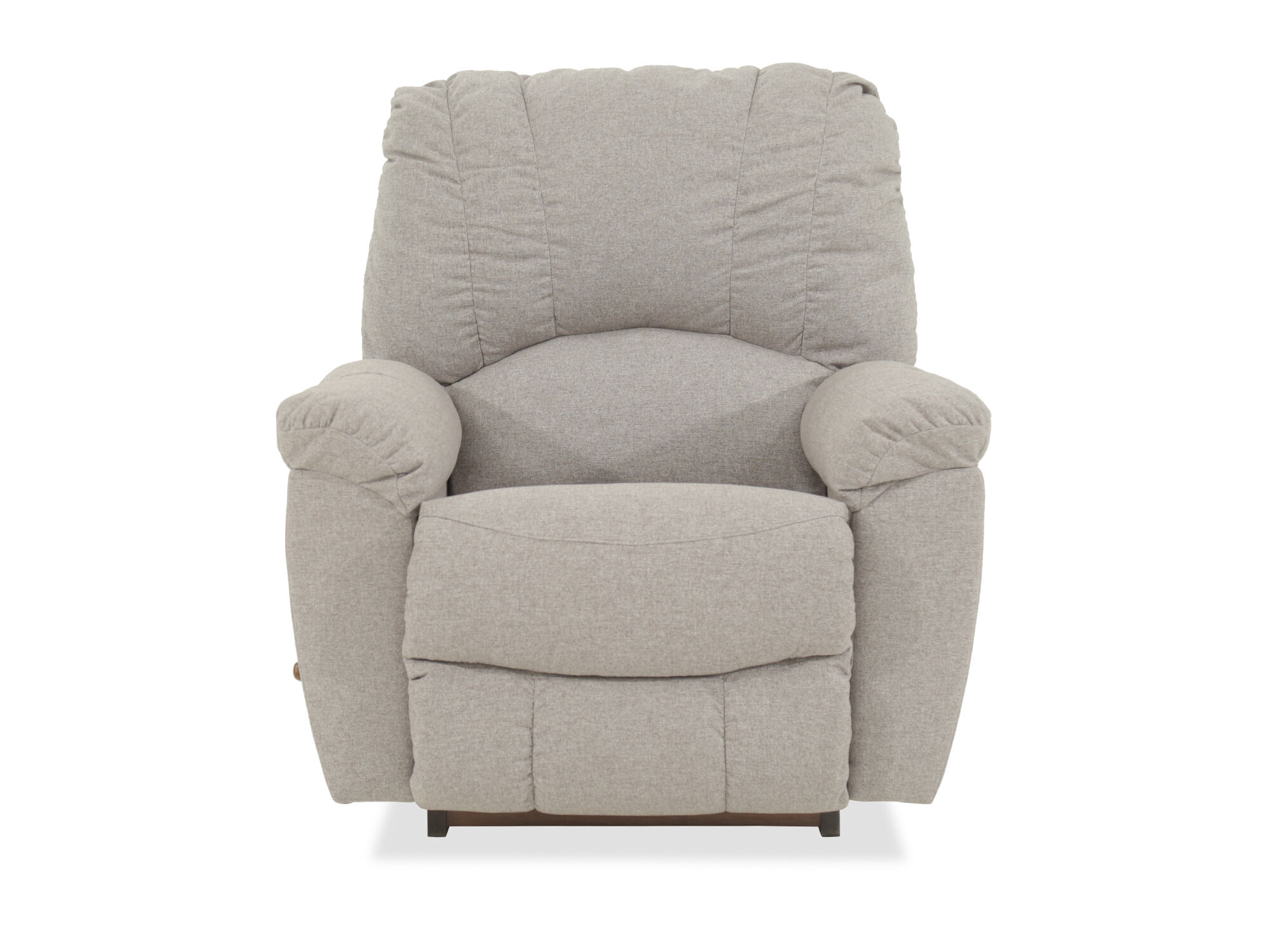 Gray Recliner Chair Casual 37 5 Quot Rocker Recliner In Gray Mathis Brothers