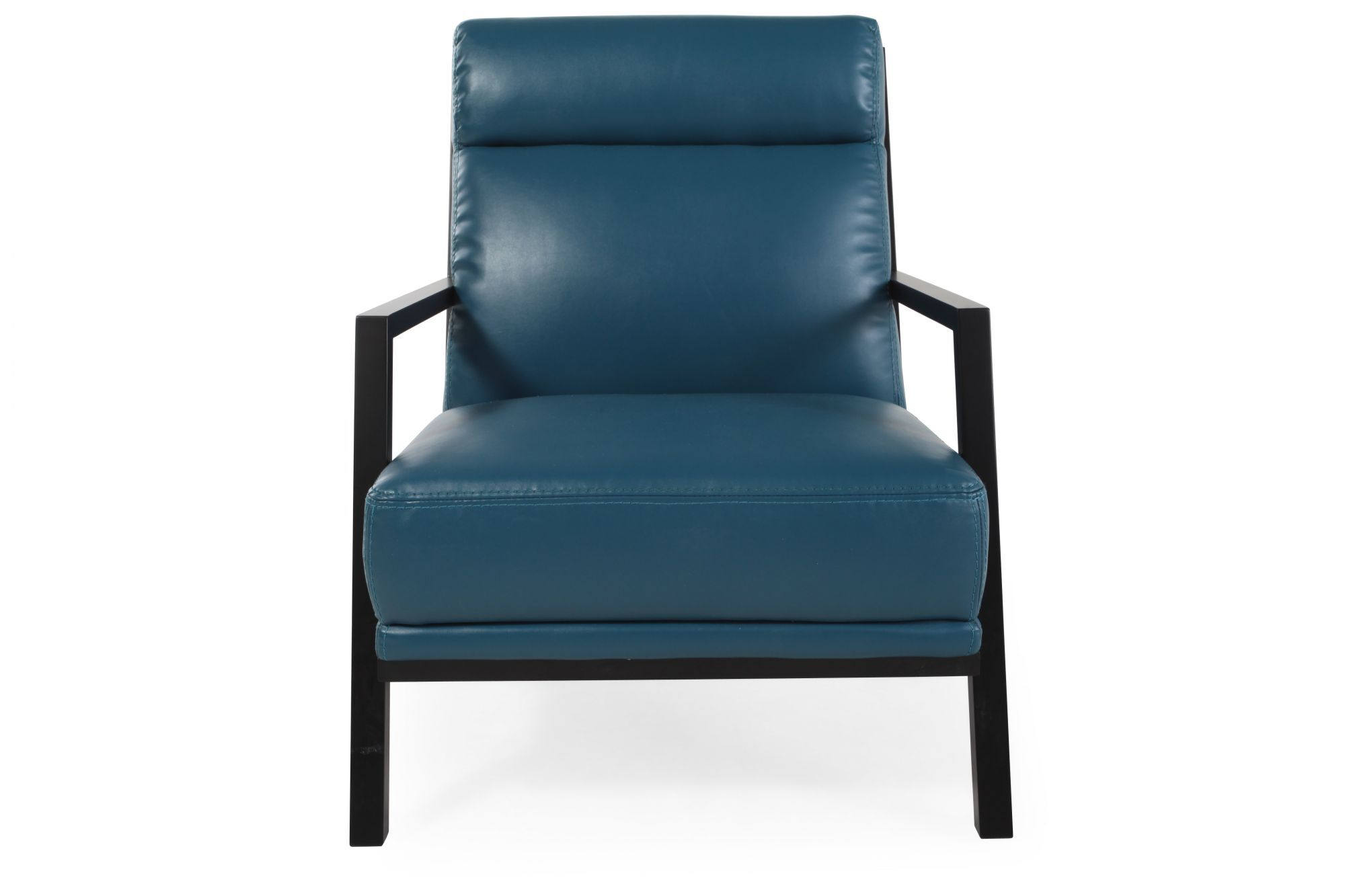 Accent Chair Blue Contemporary 29 Quot Accent Chair In Dark Blue Mathis