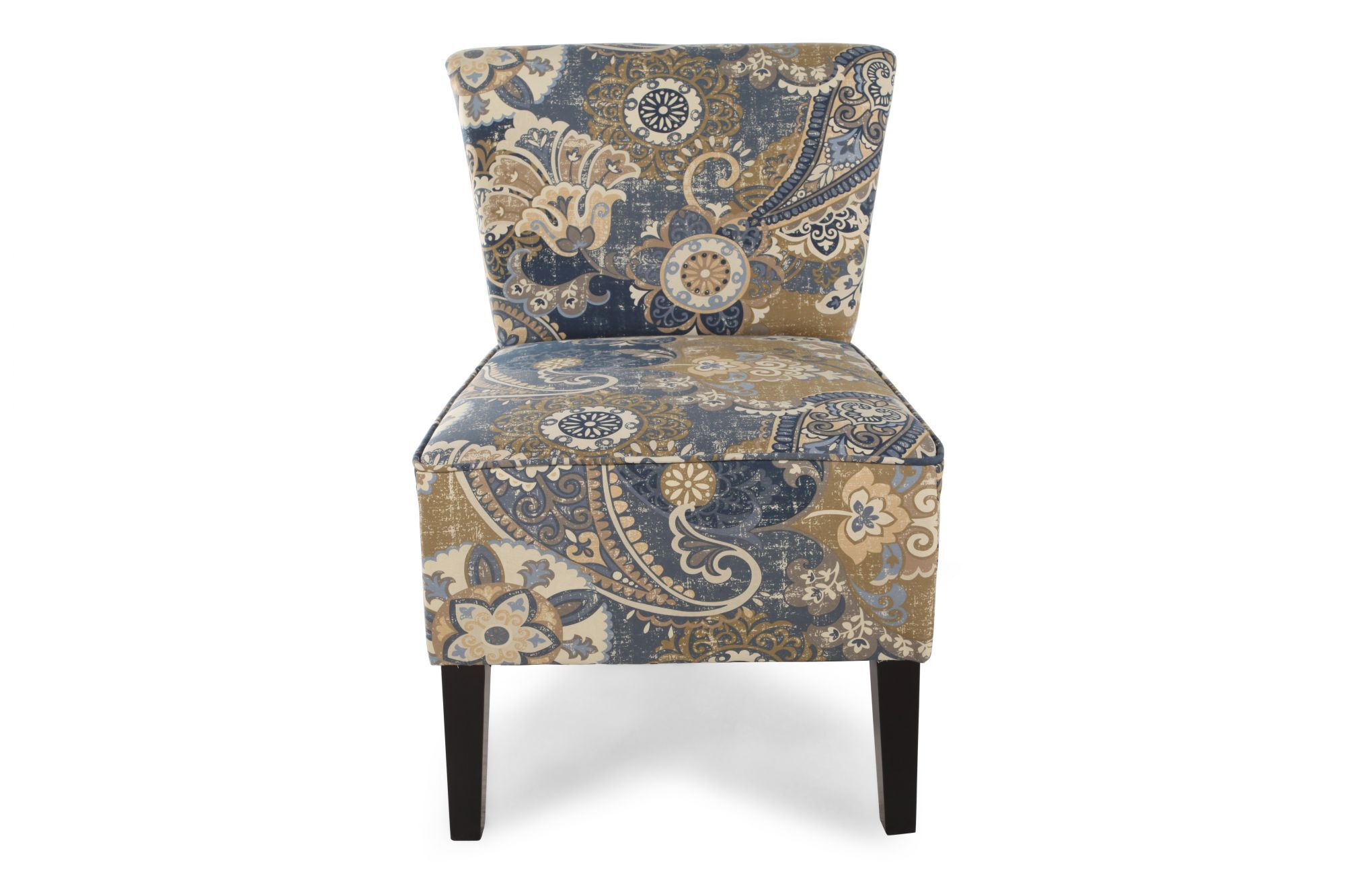 Printed Chair Floral Printed Contemporary 22 Quot Accent Chair Mathis