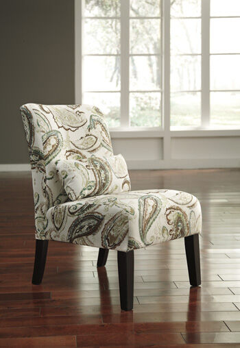 Accent Chairs Ashley Furniture Paisley Patterned Traditional 30