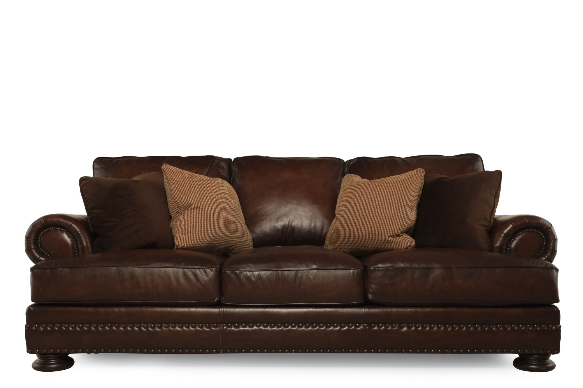 Bernhardt Leather Chair Bernhardt Foster Leather Sofa Mathis Brothers Furniture